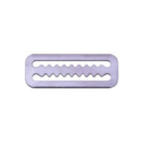 Serrated Weight Belt Keeper - 50mm