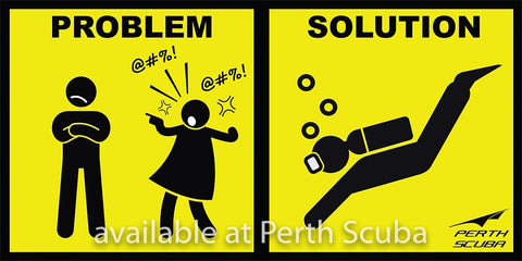 Problem Solution sticker