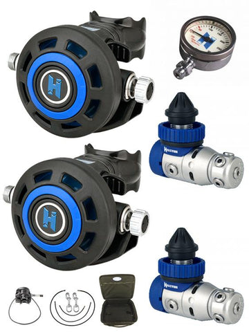 Halo Tech Double Regulator Set