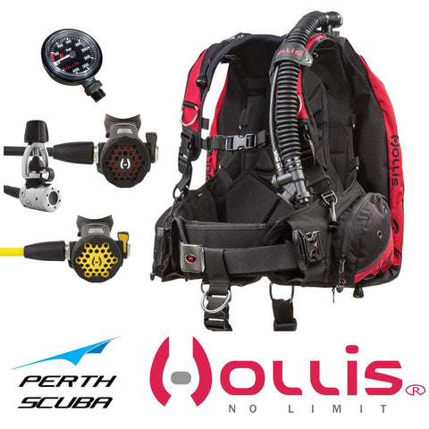 Hollis HD200 Scuba Package - large