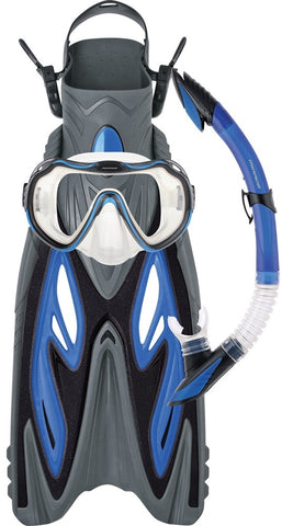 Diamond Mask, Snorkel & Fin Set
