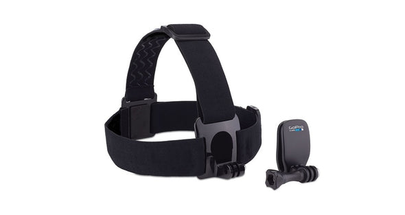 GoPro Head Strap + Quickclip Mount
