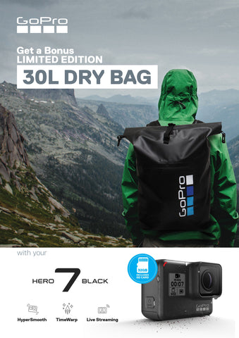 HERO7 Black SD card and dry bag bundle