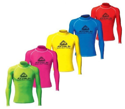 Lycra High Vis Rash Vest Kids/Junior