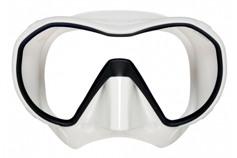 VX1 White Arctic Mask with Ultraclear Lens
