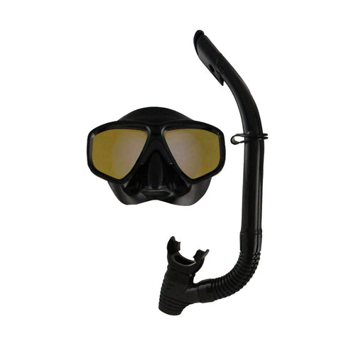 Covert Mask & Snorkel Set Mirror Lens