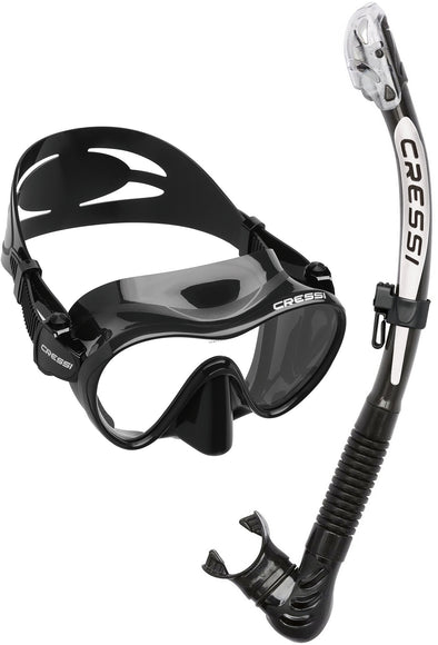 F1 Mask & Alpha Ultra Dry Snorkel Set