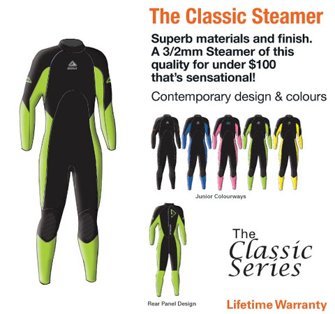 Enduro 3/2mm Junior Wetsuit