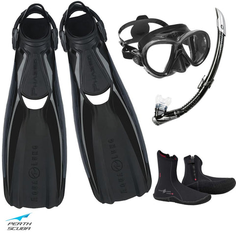Phazer Snorkeling Package Black