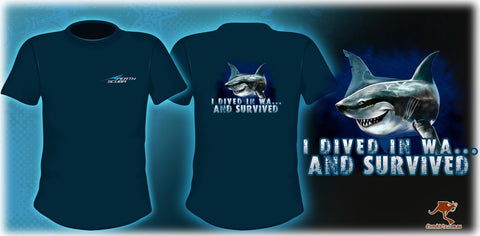 Perth Scuba Shark T-Shirt
