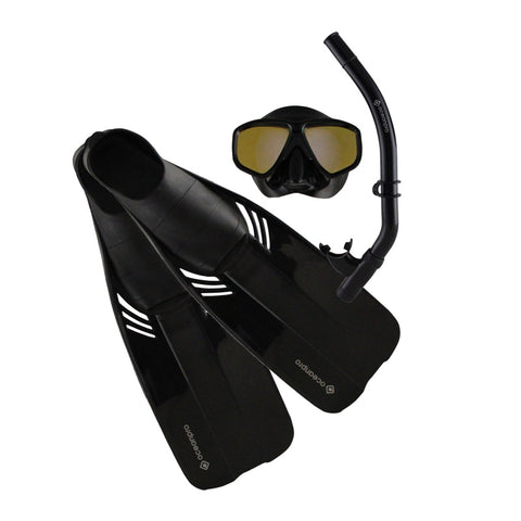 Covert Mask,Snorkel & Fin Set