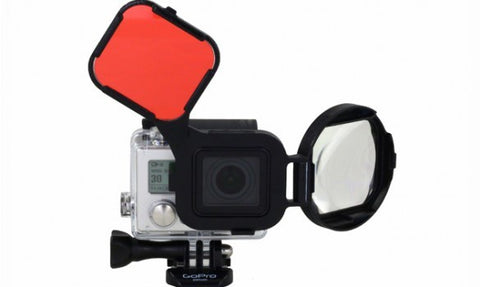 POLAR PRO GOPRO HERO3+ SWITHCHBLADE GLASS CLOSE-UP & CORRECTION FILTER