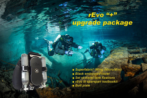 rEvo upgrade pack incl. super fabric, black cover, toolkit