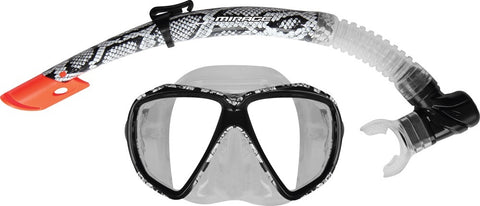 Snakeskin Adult Mask & Snorkel Set