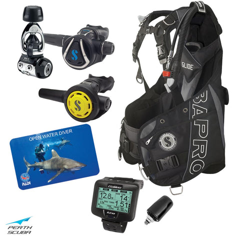 Learn to Dive for Free Unisex Package