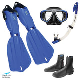 Seawing Nova Snorkeling Package Blue