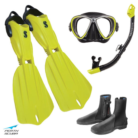 Seawing Nova Snorkeling Package Yellow