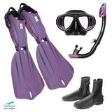 Seawing Nova Snorkeling Package Purple