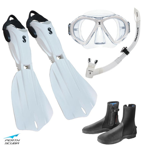 Seawing Nova Snorkeling Package White