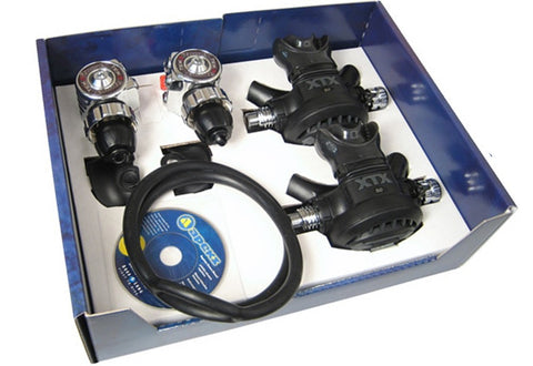 Tek 3 Twin Regulator Set