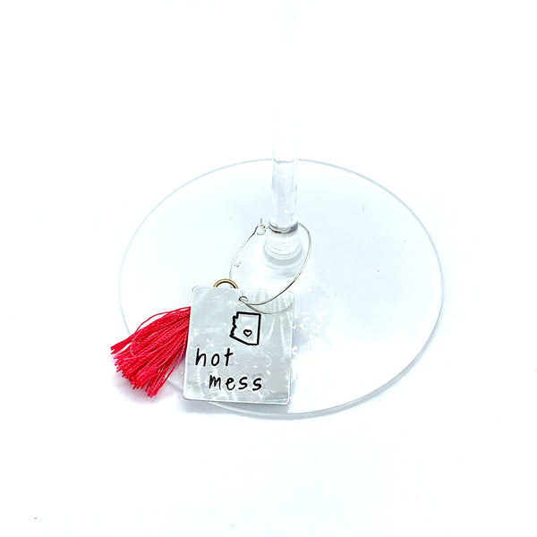 "Wine Charms - ""AZ"" Set"