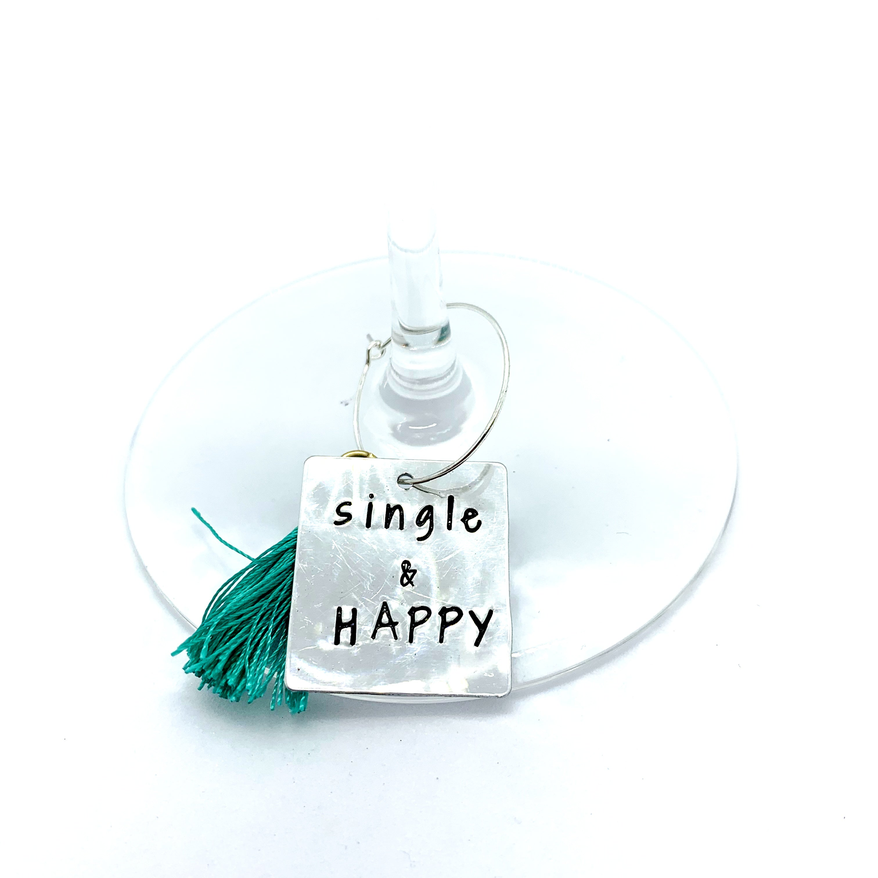 "Wine Charms - ""Single"" Set"