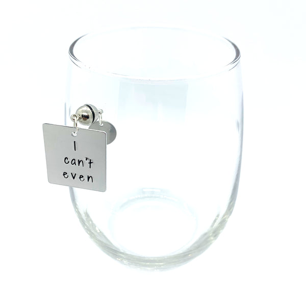 "Stemless Wine Charms - ""Mommy"" Set"