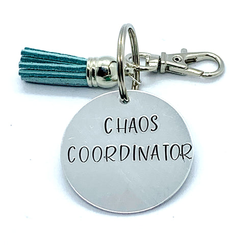 Key Chain - Circle Shape - Chaos Coordinator