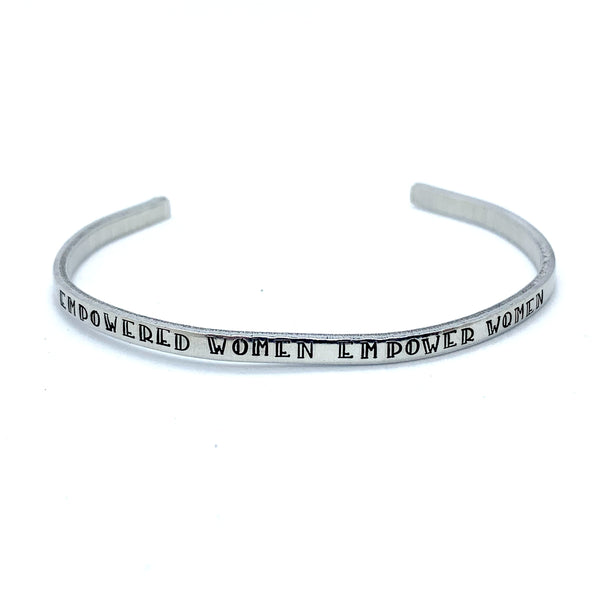 ⅛ inch Aluminum Cuff - Empowered Women Empower Women