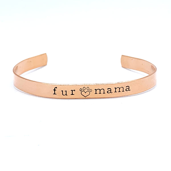 ¼ inch Copper Cuff - Fur Mama