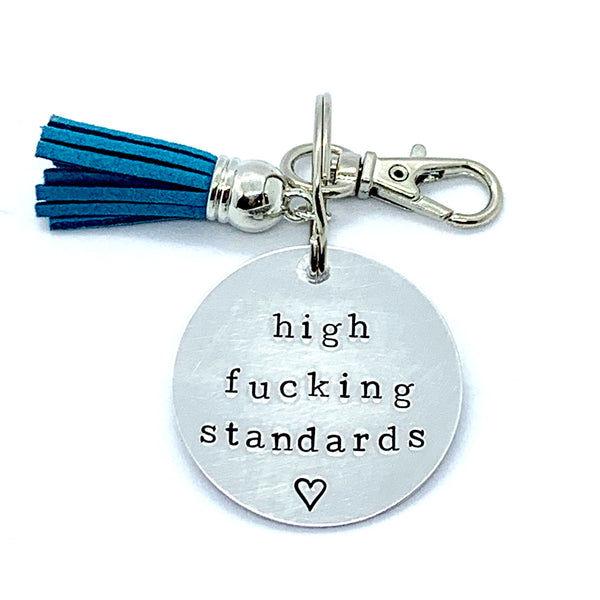 Key Chain - Circle Shape - High Fucking Standards