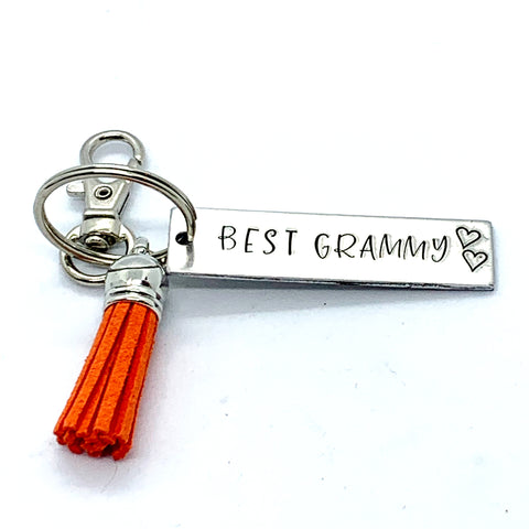 Key Chain - Small Rectangle - Best Grammy