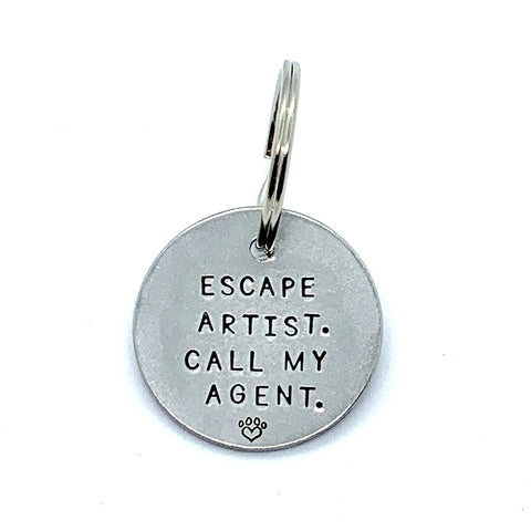 Dog Tag - Escape Artist. Call My Agent.