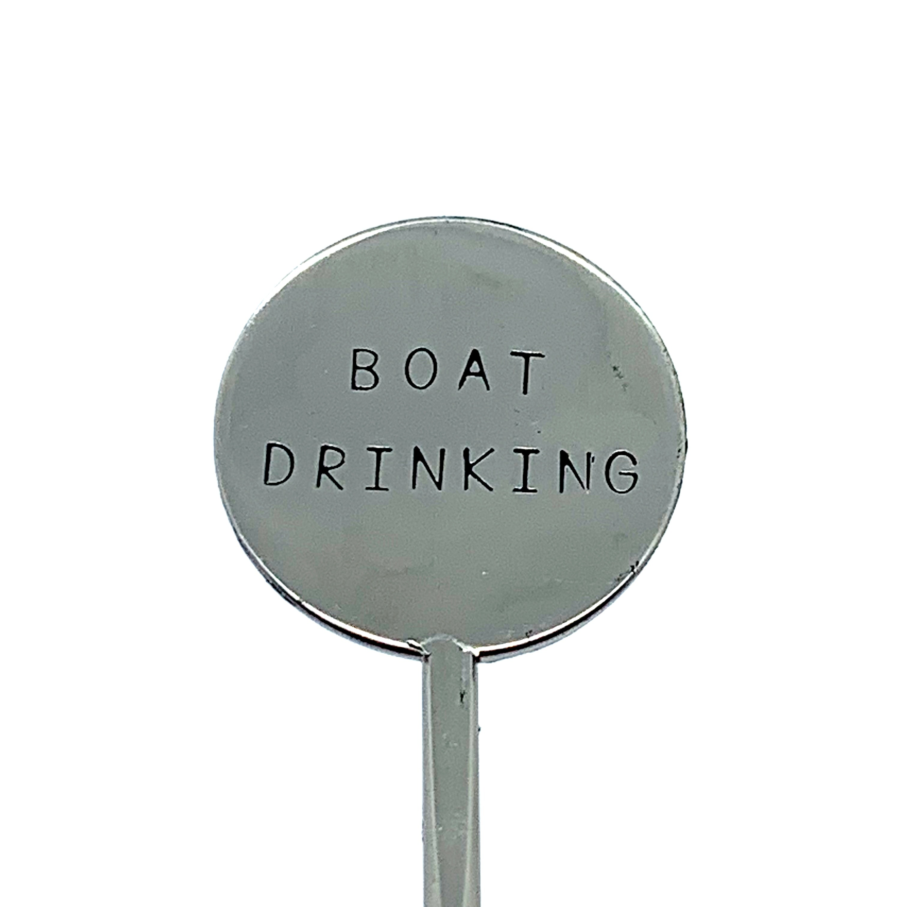 Cocktail Stirrer - Boat Drinking