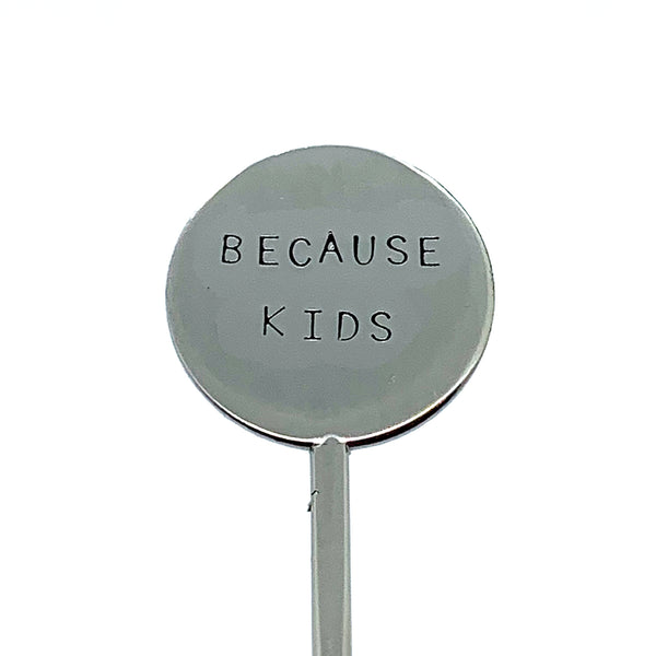 Cocktail Stirrer - Because Kids
