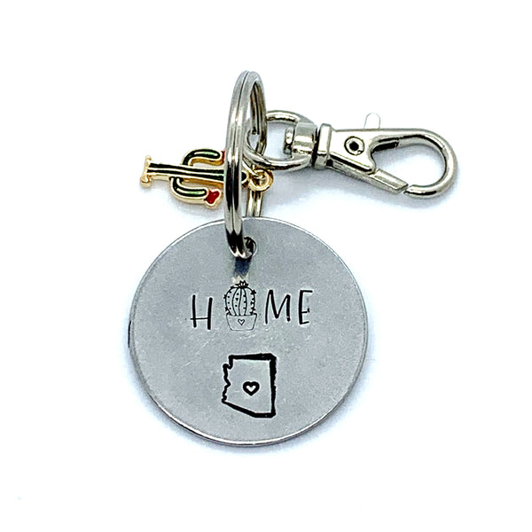Key Chain - Simple Circle w/ Specialty Tassel - Home