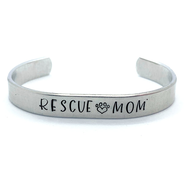 ⅜ inch Aluminum Cuff - Rescue Mom