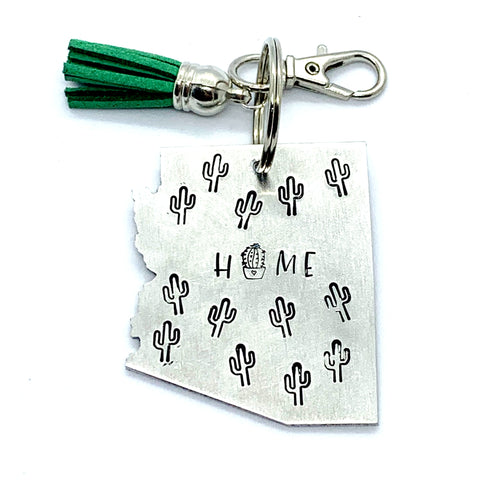Key Chain - Arizona Shape - Home