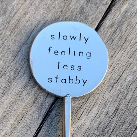 Coffee Stirrer - Slowly feeling less stabby