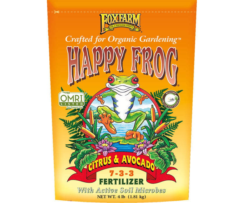 FF Happy Frog Citrus and Avocado 4 Lbs.