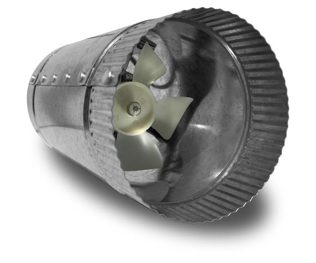 Vortex Powerfan VTA In-line tube axial