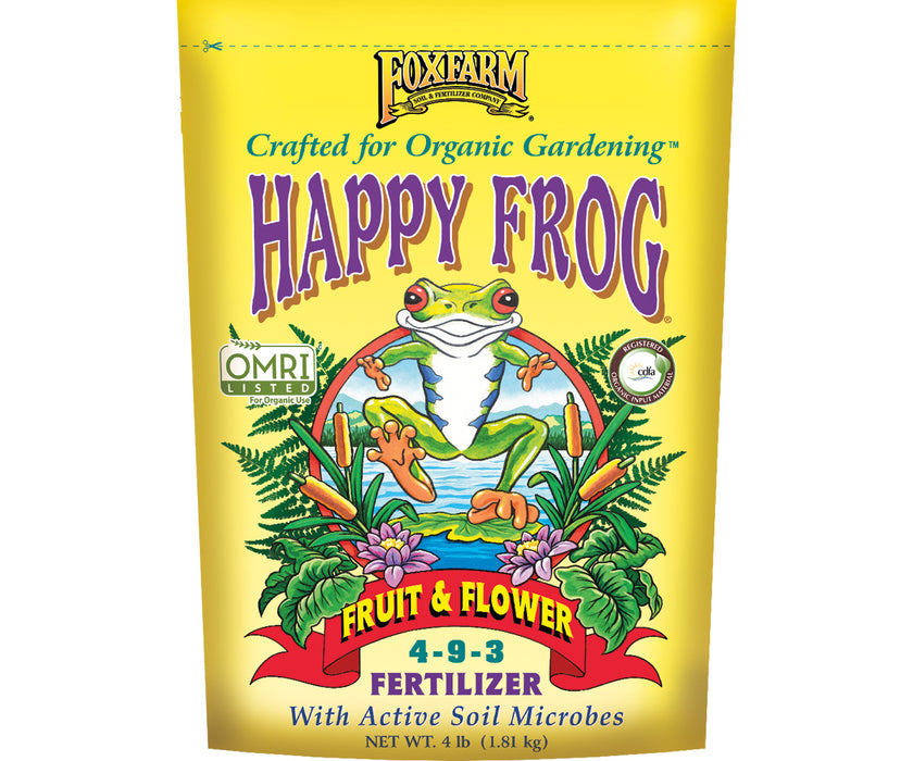 FF Happy Frog Fruit and Flower 4 Lbs.