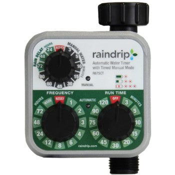 RD R675CT Set n' Flow Battery Operated Timer