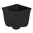 Gro Pro Square Plastic Pot Black 3.5 in