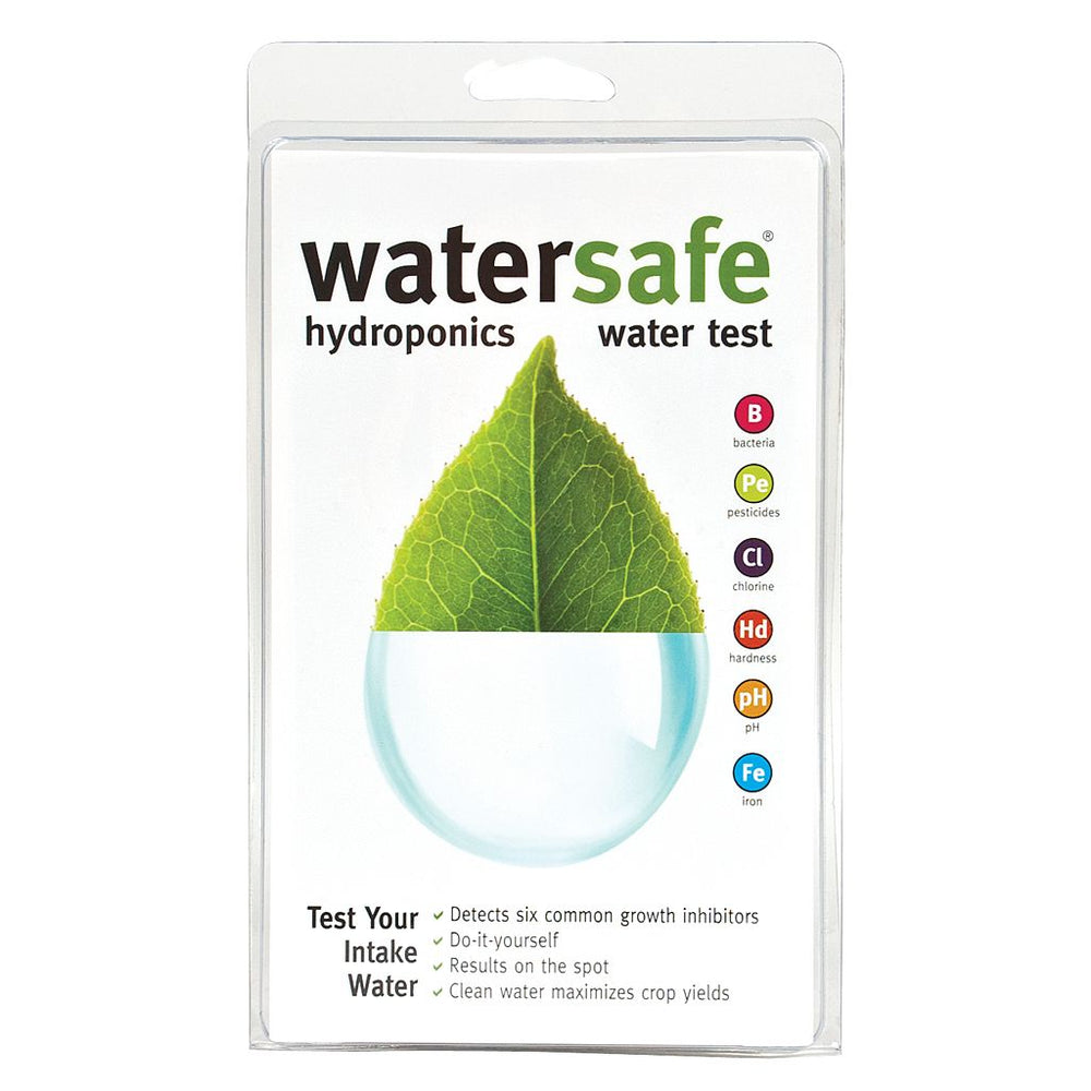 Water Safe Hydroponics Water Test