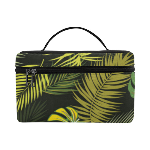 Palm Leaf Pattern Print Design A05 Cosmetic Bag