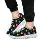 Ballon Colorful Pattern Print Design 04 Sneakers White