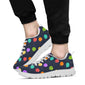 Ballon Colorful Pattern Print Design 03 Sneakers White
