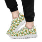 Conures Pattern Print Design 01 Sneakers White