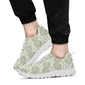 Cantaloupe Pattern Print Design 01 Sneakers White